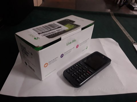 Lot 2162 DORO 5516 BLACK MOBILE PHONE RRP £65