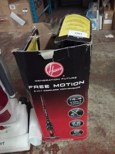 Lot 1462 BOXED HOOVER GENERATION FUTURE FREE MOTION VACUUM CLEANER