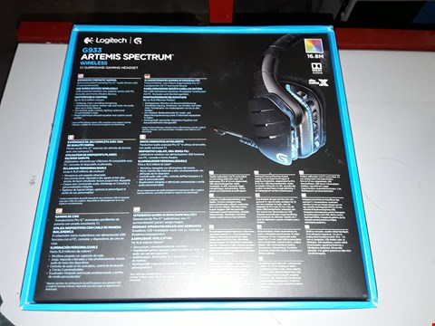 Lot 608 LOGITECH G933 ARTEMIS SPECTRUM WIRELESS HEADPHONES