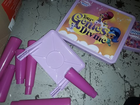Lot 2232 SHIMMER AND SHINE COLOURING TABLE