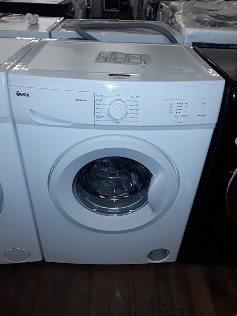 Lot 12003 SWAN SW15810W 6KG 1200 SPIN WASHING MACHINE IN WHITE