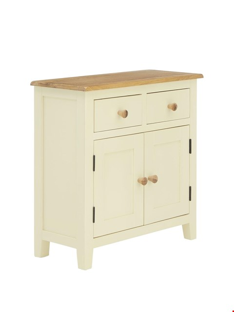 Lot 2335 BOXED GRADE 1 LONDON PAINTED READY ASSEMBLED COMPACT SIDEBOARD  RRP £329.00