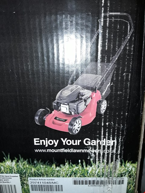 Lot 173 MOUNTFIELD HP164 HAND PROPELLED PETROL LAWNMOWER  RRP £148