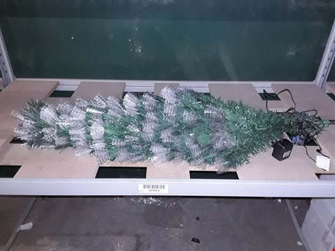 Lot 2284 BOXED 5FT COLOUR CHANGING MULTI FUNCTION FIBRE OPTIC TREE RRP £90