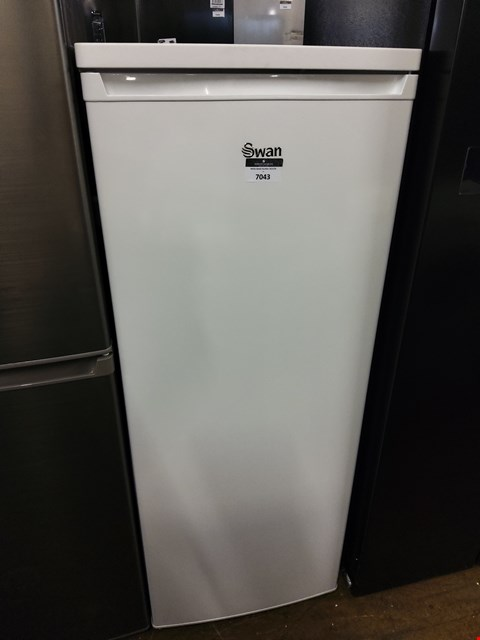 Lot 7043 SWAN WHITE TALL LARDER FRIDGE SR8140W RRP £179.99