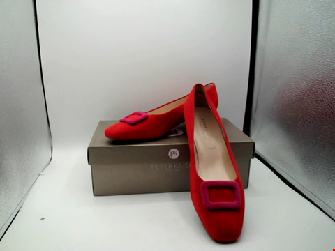Lot 1125 BOXED PAIR OF DESIGNER PETER KAISAR SHOES - UK SIZE 6