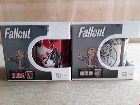 Lot 13 2 BRAND NEW BOXED FALLOUT MUGS