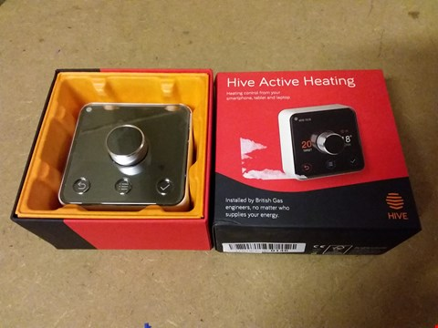 Lot 837 HIVE ACTIVE HEATING CONTROL FROM MOBILE, TABLET, LAPTOP