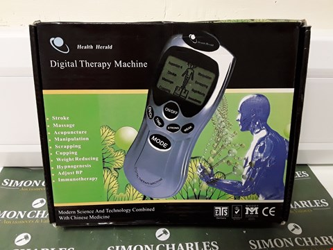 Lot 4645 BOXED HEALTH HERALD DIGITAL THERAPY MACHINE
