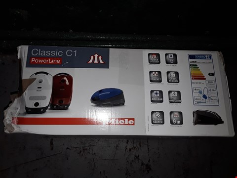 Lot 699 MIELE CLASSIC C1 EDITION POWERLINE BAGGED VACUUM CLEANER