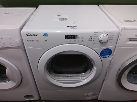 Lot 7014 CANDY CSVC8LG-80 CONDENSER TUMBLE DRYER  RRP £299.00