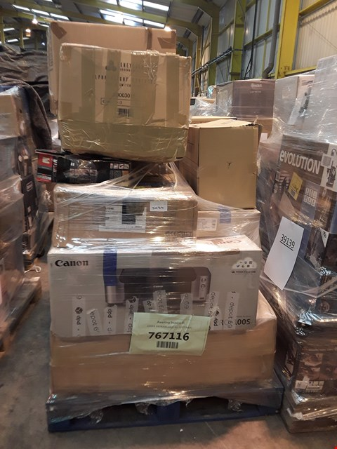 Lot 1043 PALLET OF APPROXIMATELY 12 ASSORTED ITEMS, TO INCLUDE: