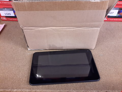 "Lot 382 MIKONA 7"" 8GB QUADCORE ANDROID 5 TOUCH SCREEN TABLET BLACK"