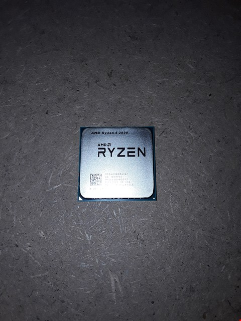 Lot 817 AMD RYZEN 5 2600 PROCESSOR