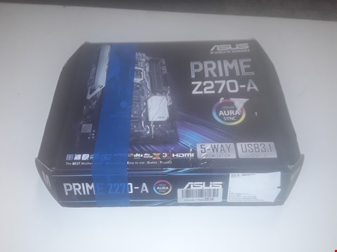 Lot 1029 BOXED ASUS PRIME Z270-A MOTHERBOARD