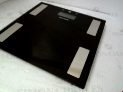 Lot 10164 SALTER BLACK GLASS ANALYSER SCALE RRP £25.00