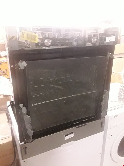 Lot 24 COOKE AND LEWIS INTEGRATED SINGLE OVEN  RRP £239