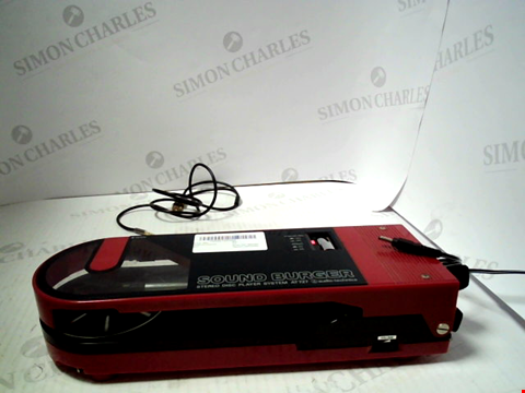 Lot 5202 AUDIO TECHNICA SOUND BURGER STYEREO DISC PLAYER SYSTEM AT727