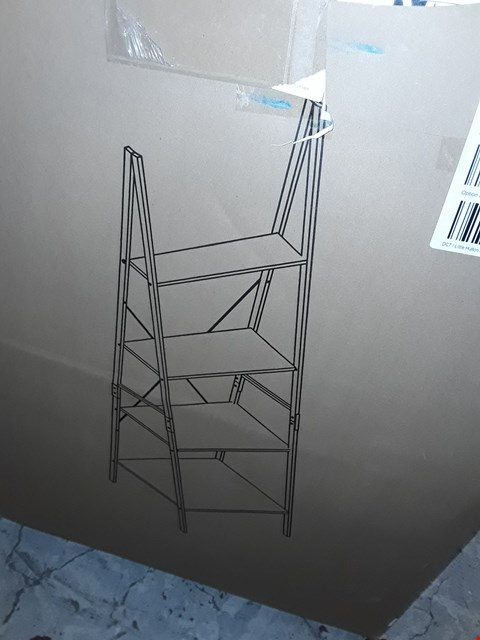 Lot 7596 BOXED TELFORD INDUSTRIAL BOOKCASE LADDER RRP £59.00