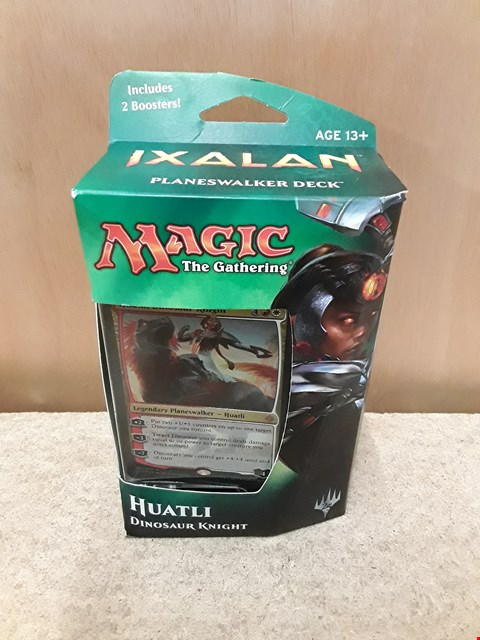 Lot 40 BRAND NEW BOXED MAGIC THE GATHERING (STRATEGY CARD GAME) CARD DECK: HUATLI DINOSAUR KNIGHT