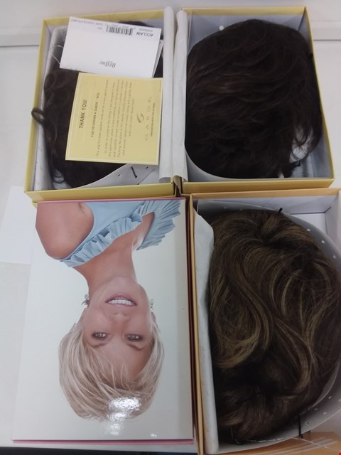 Lot 586 LOT OF 4 ASSORTED WIGS