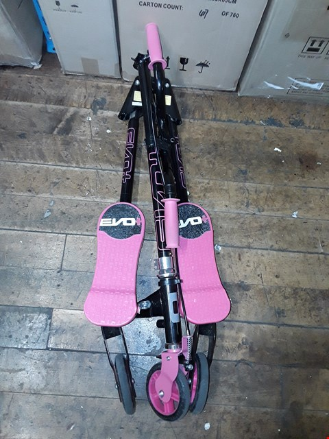 Lot 315 EVO+ V-FLEX SCOOTER - PINK RRP £60