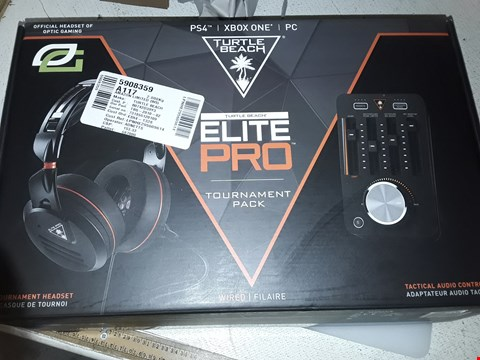 Lot 4035 TURTLE BEACH ELITE PRO TOURNAMENT PACK