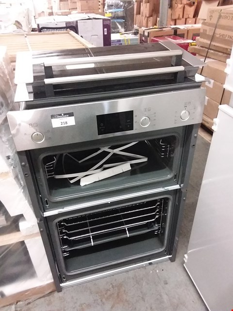 Lot 218 BOSCH ELECTRIC DOUBLE OVEN - HBM13B252B RRP £520