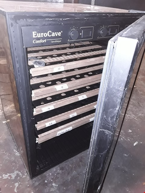 Lot 10051 EURO CAVE COMFORT UNDER COUNTER WINE COOLER