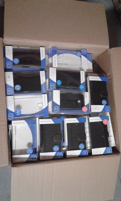 Lot 11518 BOX OF APPROXIMATELY 50 PROTECTIVE MOBILE PHONE CASES