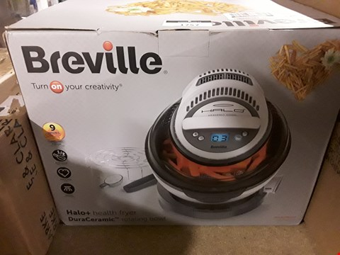 Lot 1757 BOXED GRADE 1 BREVILLE VDF122 HALO+ DURACERAMIC HEALTH FRYER RRP £159.99