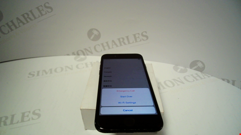 Lot 77 APPLE IPHONE 7 MODEL A1778 (CAPACITY UNKNOWN)