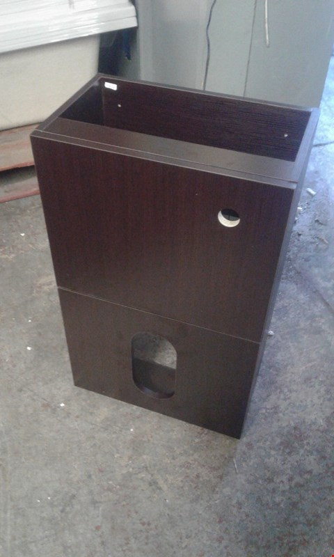 Lot 1121 WENGE EFFECT MYPLAN 500 BACK TO THE WALL WC UNIT RRP £219.00