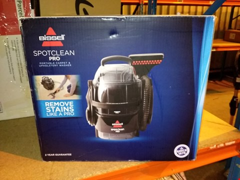Lot 5753 BISSELL SPOT CLEAN PRO PORTABLE CARPET WASHER