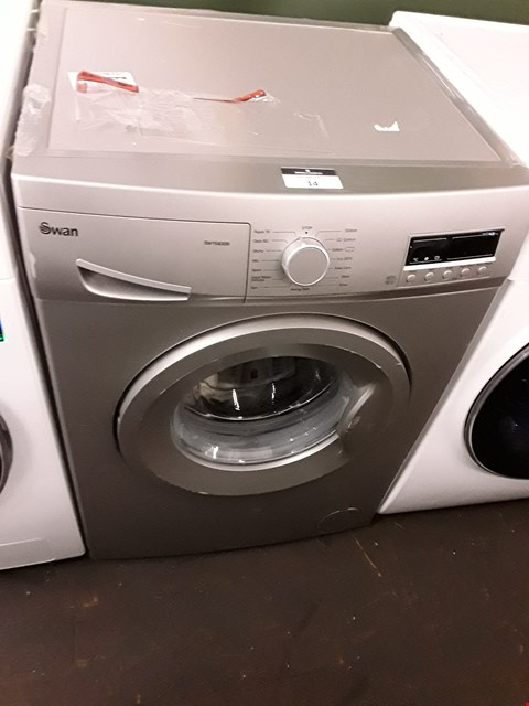 Lot 14 SWAN SW15830S SILVER WASHING MACHINE