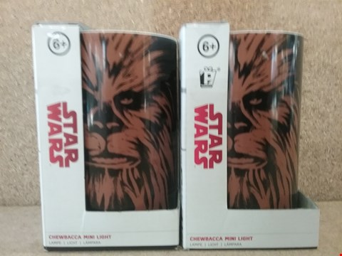 Lot 342 2 BRAND NEW BOXED CHEWBACCA MINI LIGHTS