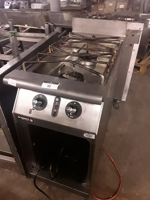 Lot 4 ROSINOX 2 BURNER GAS FREESTANDING HOB