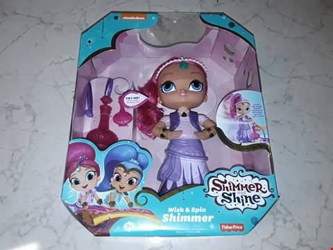 Lot 205 BOXED SHIMMER & SHINE WISH AND SPIN SHIMMER DOLL