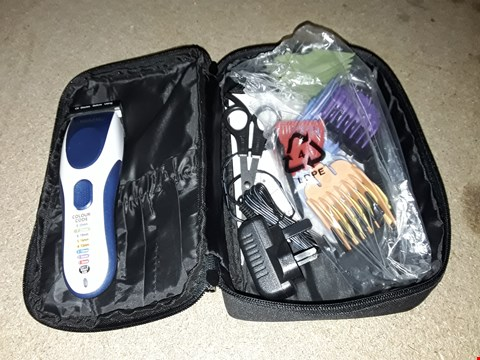Lot 246 UNBOXED WAHL HAIR CLIPPER IN BAG WITH ACCESSORIES