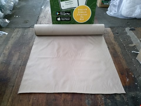 Lot 7082 ROLL OF QUALITY TERMOLST BUTTERSCOTCH FABRIC APPROXIMATELY 40X1. 4 METRES