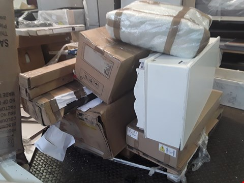 Lot 360 PALLET OF ASSORTED FLAT PACK FURNITURE/PARTS