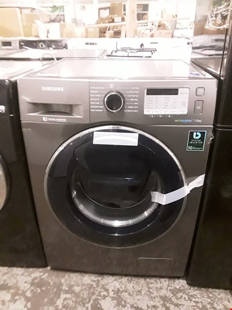 Lot 21 SAMSUNG WW70K5413UX/EU 7KG 1400 SPIN WASHING MACHINE WITH ECOBUBBLE - GRAPHITE