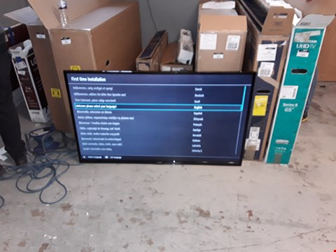 "Lot 4089 LUXOR 55"" ULTRA HD 4K FREEVIEW PLAY LED SMART TV - LUX0155005/01 ( GOOD PICTURE )"