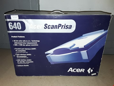 Lot 4023 BOXED ACER 640P SCANPRISA