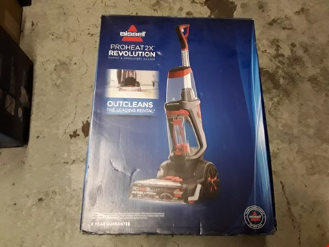Lot 10493 BISSELL PROHEAT 2X REVOLUTION CARPET CLEANER WITH HEATWAVE TECHNOLOGY