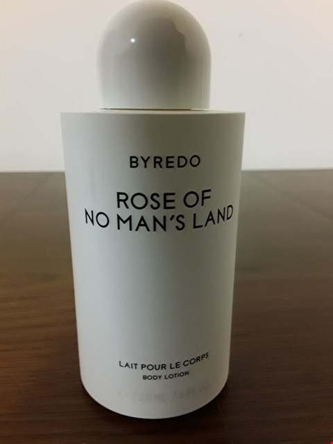 Lot 8030 BYREDO 225ML ROSE OF NO MEN'S LAND BODY LOTION