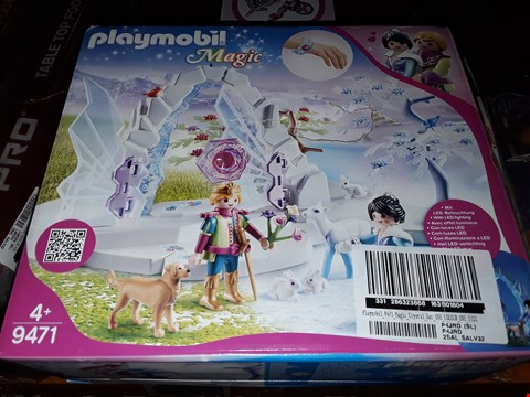 Lot 5062 PLAYMOBIL 9471 MAGIC CRYSTAL GATE TO THE WINTER WORLD