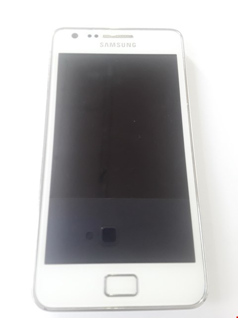 Lot 97 SAMSUNG GALAXY S2 I9100 WHITE MOBILE PHONE