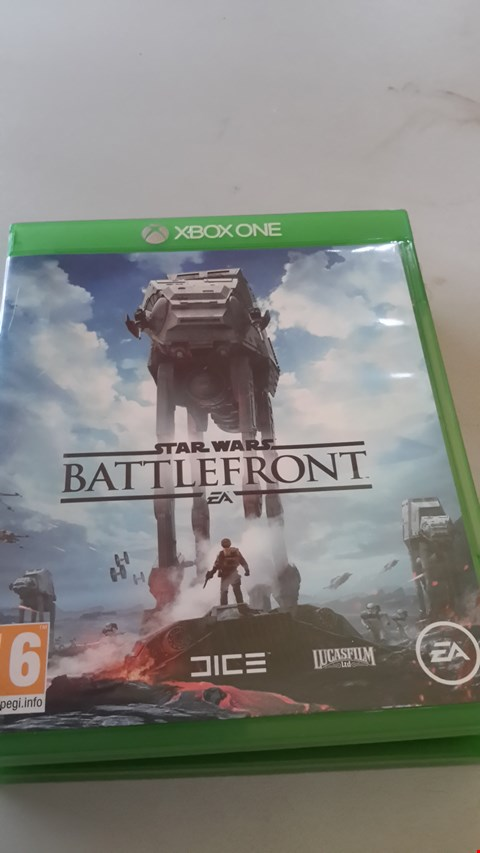Lot 9019 STAR WARS BATTLEFRONT FOR XBOX ONE