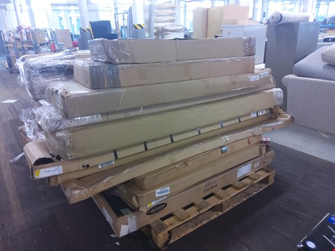 Lot 6023 PALLET OF ASSORTED FURNITURE/PARTS TO INCLUDE: BOSTON SIDEBOARD PARTS, COT BED PARTS ETC